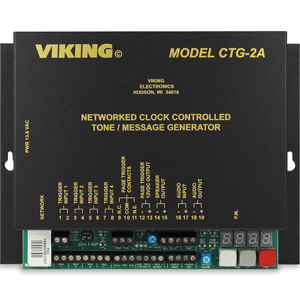 Viking Networked Clock Controlled Tone / Message Generator and Master Clock