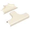 400 Series Tee Fitting, Ivory (Pkg of 10)