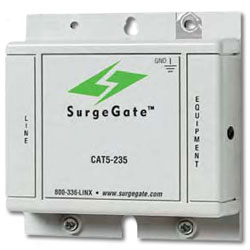 ITW Linx SurgeGate Category 5e Building Entrance Protector (235V)