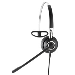 Jabra BIZ 2420 Mono Headband Noise Canceling Quick Disconnect STD Corded Headset