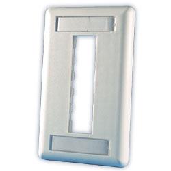 Legrand - Ortronics TracJack™ 3-Port Single Gang Plastic Faceplate