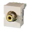 TracJack Module Yellow Phono/RCA to 110