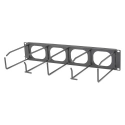 Hubbell 7 Inch Horizontal Cable Management Panel with Cover