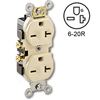 Side Wired 20Amp 250V Duplex Receptacle