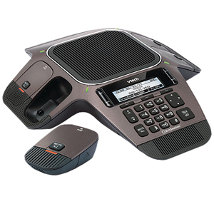 ErisStation SIP Conference Phone with Four Wireless Mics