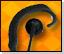 EH-100 Lookout Light Duty Earphones (Listen Only)