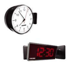Viking Double Mount Bracket for CL Series Wireless Digital and Analog Clocks