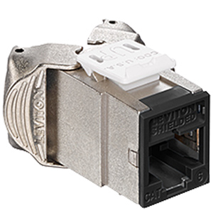 Leviton Atlas-X1 Cat 6 Shielded QuickPort Connector