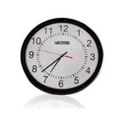 Valcom 12 Inch Round Wired Analog Clock