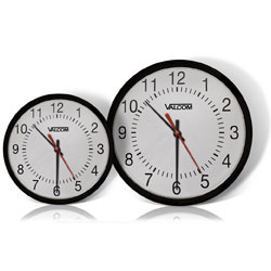 Valcom IP PoE Automatic Time Set Analog Clock