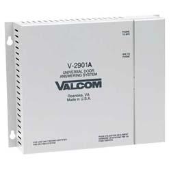 Valcom Single Door Answering Device-Activate Door Locks
