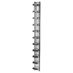 Legrand - Ortronics Mighty Mo 6 Vertical Cable Management Cage, with Latches, 4