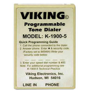 Viking Hot Line Dialer - Tone Programmable
