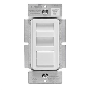 Decora Dimmable LED,CFL and Incandescent IllumaTech Slide Dimmer