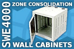 Southwest Data Products SWE4000 Zone Consolidation Wall Cabinet