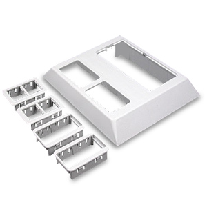 Legrand - Wiremold Access® 5000 Series Raceway Deep Device Plate for Ortronics