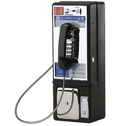 Protel 7000 Payphone with Refurbished Board and Volume Control Kit