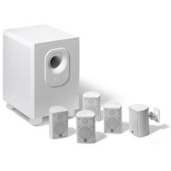 Leviton 5-Channel Surround Sound Home Cinema Speaker System and 5 Satellite Speakers