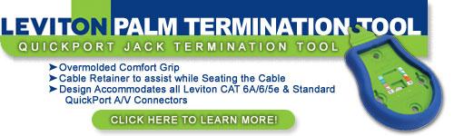 Leviton Palm Termination Tool