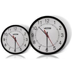 Valcom IP PoE Automatic Time Set Analog Clock