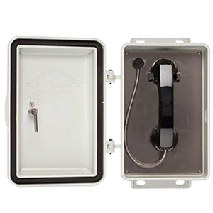 Non-Metallic Enclosure with No Dial Phone