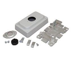Legrand - Wiremold 1500 and 2600 Series™ Steel Pancake® Overfloor Raceway Telephone Outlet Box