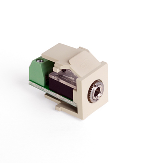 Leviton Quickport 3.5mm Snap-in Module