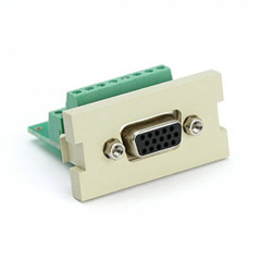 Leviton MOH Video Connector Insert
