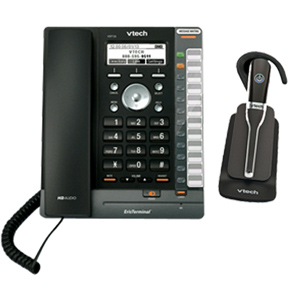 ErisTerminal SIP Deskset with Cordless Headset Bundle