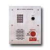 Flush-Mount Emergency Phone: 14 Gauge Stainless Steel with Number Keypad