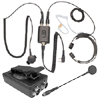 Gladiator Heavy Duty Throat Mic with PTT-1500A and PT-1500C Kit