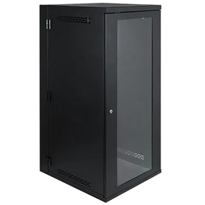 26 RMS Wall Mount Enclosure Cabinet with Plexiglass Door