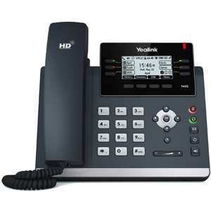 T42G Ultra Elegant Gigabit IP Desk Phone