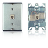 Stainless Steel Wall Phone Jack - 110 Termination