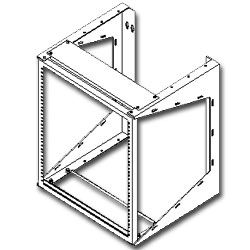 Southwest Data Products Wall Mounted Swing Rack - 22