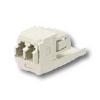 Mini-Com LC Sr./Sr. Fiber Optic Adapter Modules with Phosphor Bronze Split Sleeve