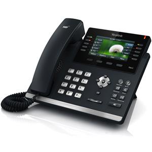 T46S Ultra Elegant Gigabit IP Desk Phone
