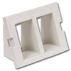 Infin-e-Station Keystone - 2 Port/Recessed