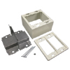 2400D Series Divided 2-Gang Device Box Fitting