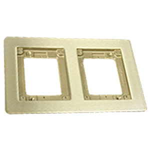 Two-Gang Cover Plate Flange
