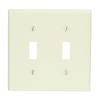 2-Gang Toggle Device Switch Wallplate