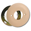 Round Faceplate for use with 625F Jacks