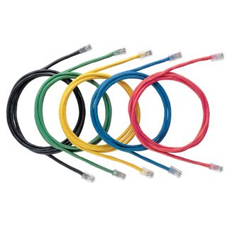 7FT Category 5e patch cord with Pan-Plug® Modular Plugs