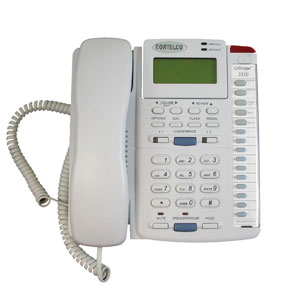 Enhanced Colleague Two-Line Corded Telephone