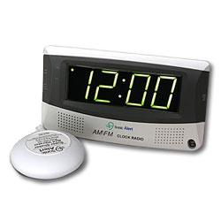 Sonic Alert Sonic Boom Alarm Clock, AM/FM Radio