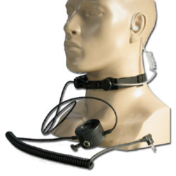Impact Radio Accessories Heavy Duty Throat Microphone