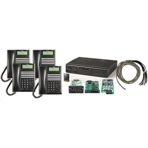 Digital Quick-Start Kit with (4) 24 Button Telephones