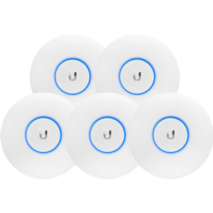 Ubiquiti UniFi AC Dual-Radio Access Points (Pack of 5)