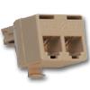 6P6C Modular T Adapter