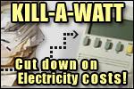P3 International KILL-A-WATT Compact Digital Power Meter